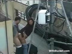 Sex on the roof