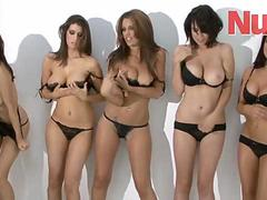 Sophie Howard And Friends Topless Photo Shoot