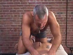 Hariy daddy likes to abuse movie