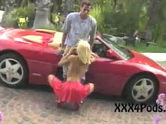 Peter North Nails Anita Blond Outside