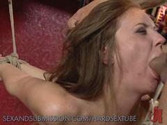 Slut Gets and Aggressive Facefuck