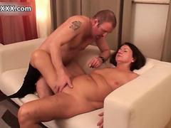 Nasty old slut goes crazy jerking film