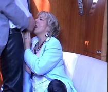 GRANNY JASMINE SELLS A BOAT with a blowjob