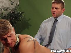 Hot office ass fucking boss Colby Jansen
