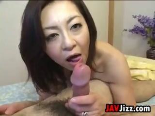 Creampie Japanese mature