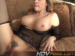 HDVPass Interracial sex action with Chanel Preston.