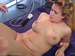 Electro-Domme Punishes Penny Barber