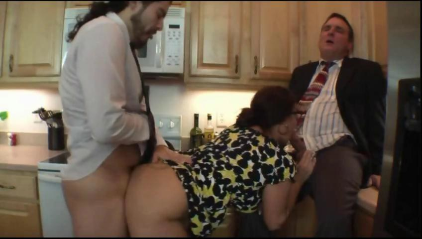 Huge Tits Stepmom Fucks Son