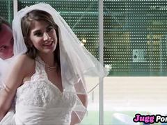 Wife Karina White Fucking Wedding Dress