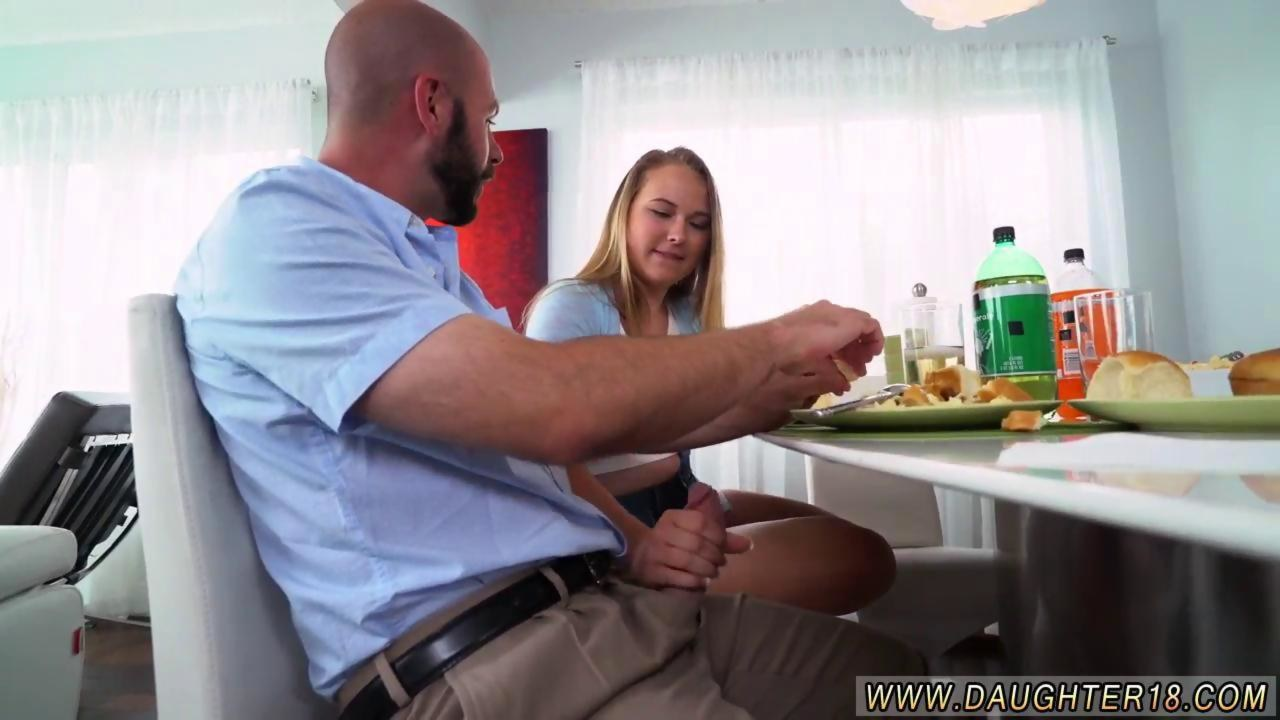 Latina Teen Fucks Dads Friend
