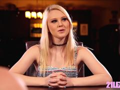 Our new lesbian roommate - Kristen Scott, Chloe Couture and Lily Rader
