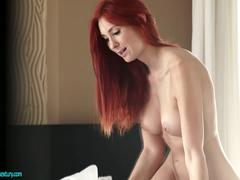 Freckled Redhead Ass Banging