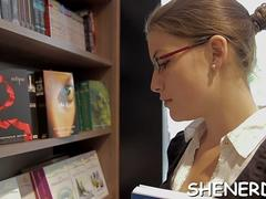 nerd in glasses likes it deep segment video 1