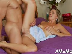 mature is deeply penetrated porn