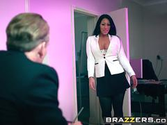 Brazzers - Big Tits at Work -  Take Your Teen To Work Day scene starring Candi Kayne and Luke Hardy