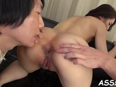 wild anal sex for cute asian schoolgirl feature clip 5