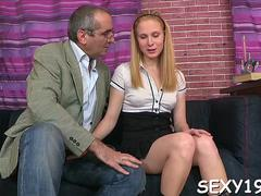 babe is hungry for teachers cock feature clip 1