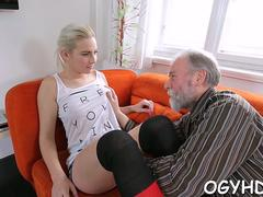 babe licked by an old guy video film 1