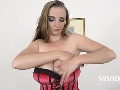 Vivid.com - Big Tit Suzie gets stretched out by a fat cock