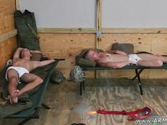 Military men caught jerking off gay Good Anal Training