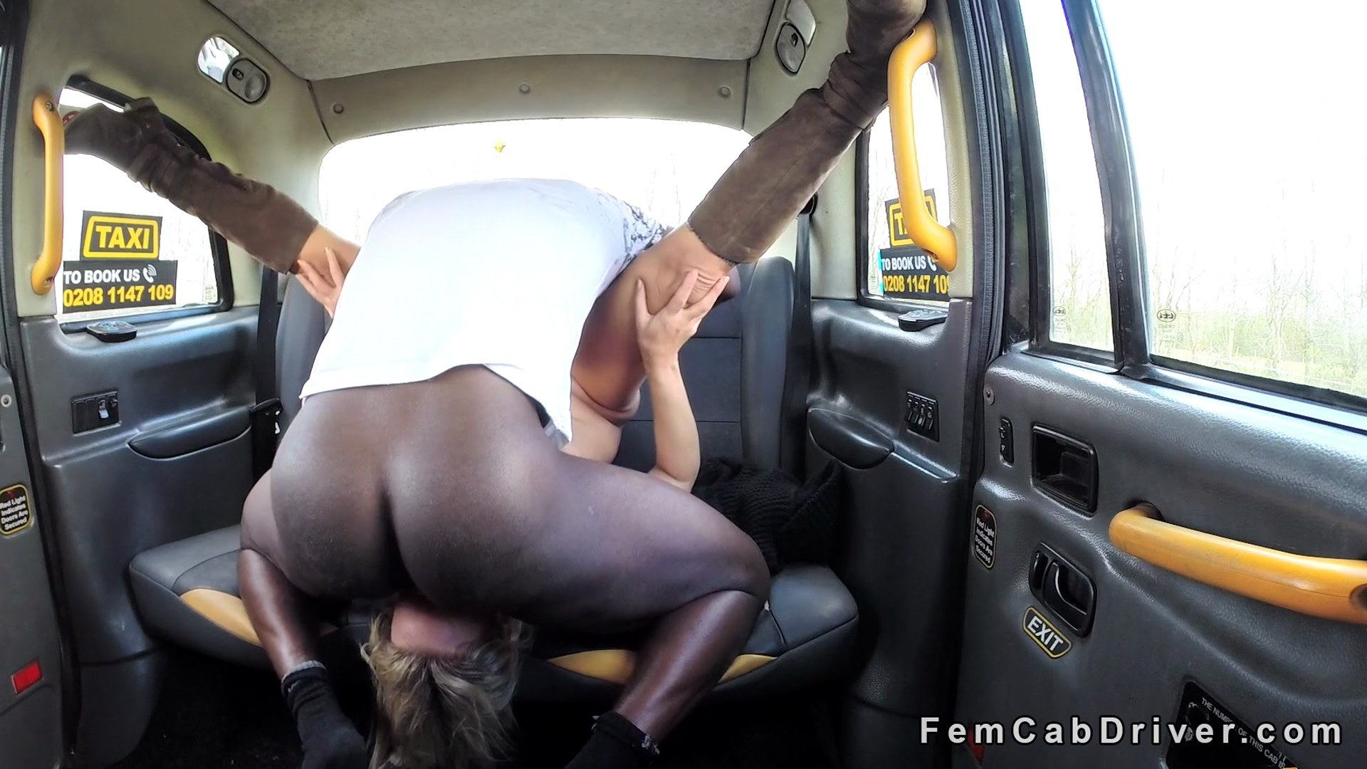 Female Fake Taxi Soldier