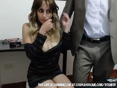 fondling my secretary.... teen