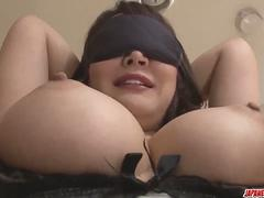 Busty Hinata Komine delights with a lot of home toy sex - More at Japanesemamas.com