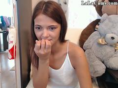 Perfect Body Tight Teen Cam Girl Plays 01