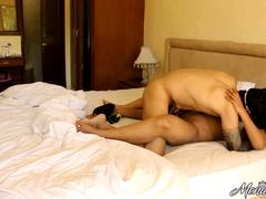 Mona Seducing Her Indian Husband Fucked In Missionary Position