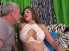 Mature Floozy Jade Blissette Is Licked All Over and Then Fucked Hard