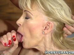 old granny gets fucked mature