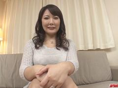 Hinata Komine gets stiff toys in her mature pussy and ass - More at Japanesemamas.com