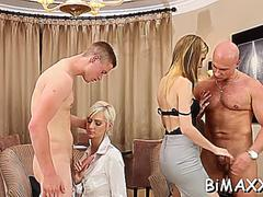 Bi sexual fantasy with a blonde