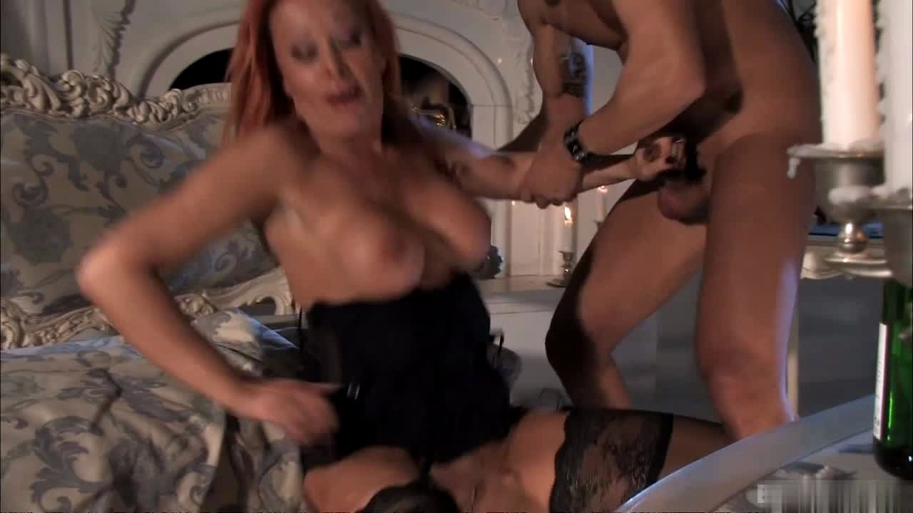 Blonde women and black cock