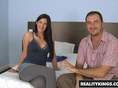Reality Kings - Mikes Appartment - Mira Sunset James Brossman- Trouble Digger