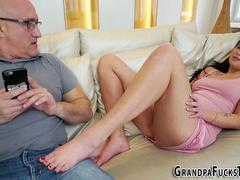 Teen pounded by old man
