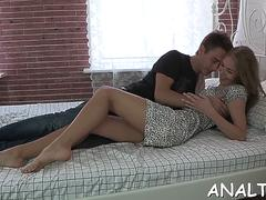 stretching beautys tight anal canal segment