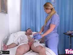 Trickery - PAWG AJ Applegate has sex on the job