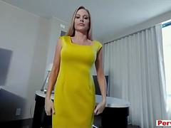 Nympho stepmom needs my calming cock on a daily basis
