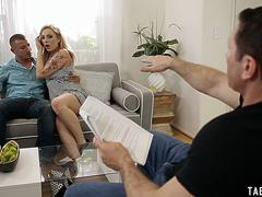 Producer and actor DP fuck blonde actress Dahlia Sky