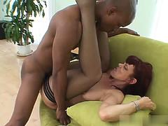 Rubee Tuesday is a redheaded MILF, who loves getting interracially fucked in her