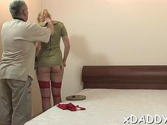 Amazing cutie gerda gets groped and fucked
