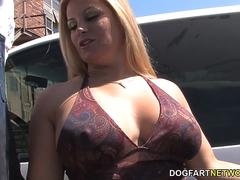 Busty Cougar Friday Wants To Fuck Big Black Cocks