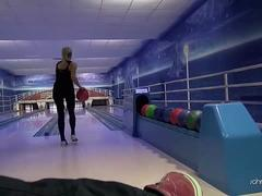 Cousins Fuck Eachother At Bowling Alley Live