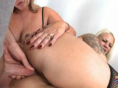 PervCity Nasty Anal Threesome with Dee Siren and Lucky B