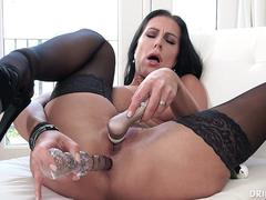 Horny Big Boob German MILF Gets A Rough Fuck In Her Big Ass