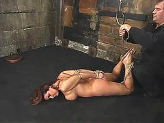 christina carter is canned whipped tickled and pushed hard segment
