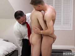 Boys tiny cocks and fucking their own mother gay Elder Xanders woke up and got undressed