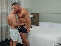 big dick gay anal sex and facial movie