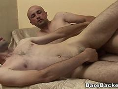 Barebacked Anal Sex With Hot Gay Couples